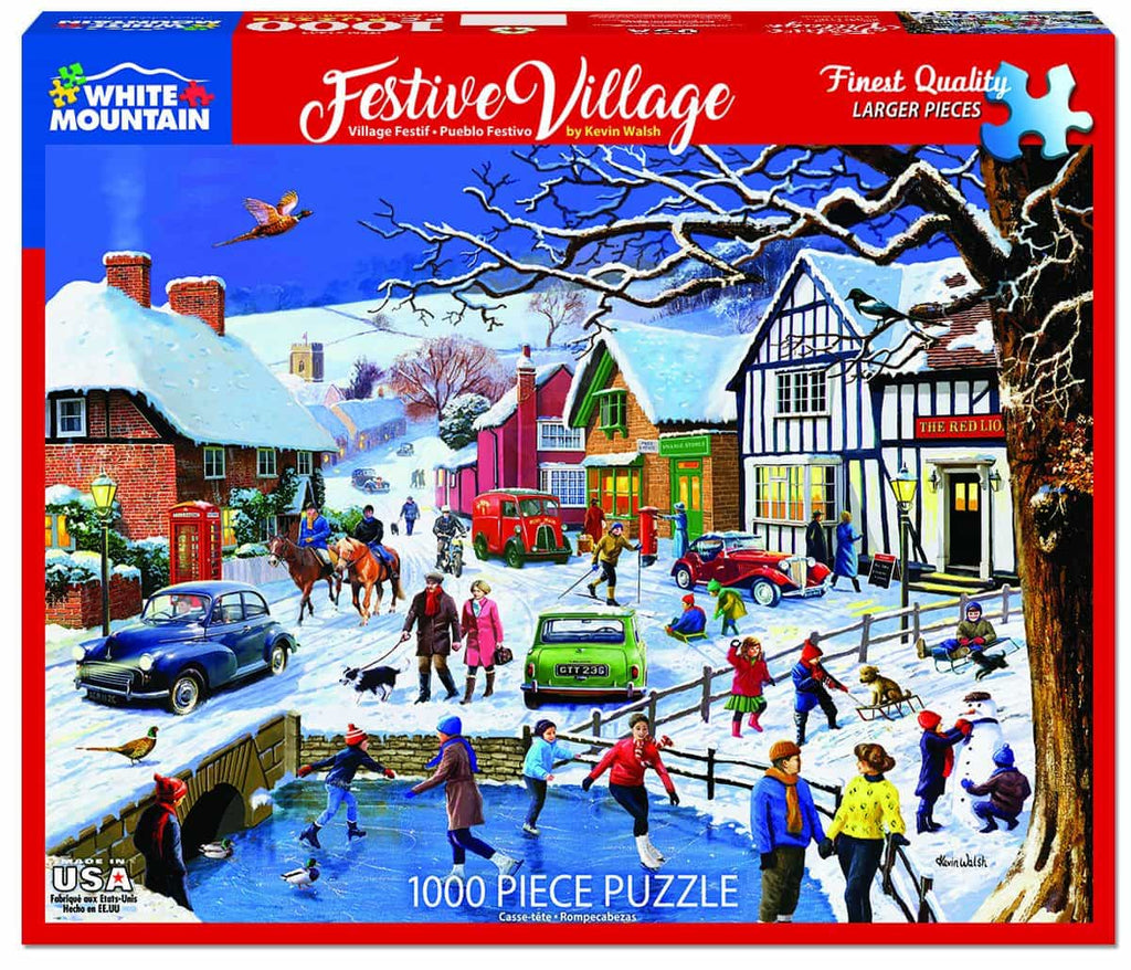 Festive Village - 1000 Pieces