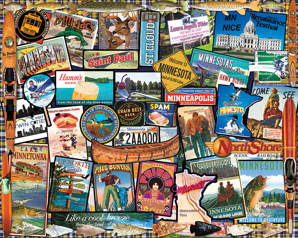I Love Minnesota - 1000 Pieces