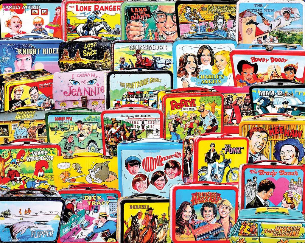 TV Lunch Boxes (1471pz) - 1000 Piece Jigsaw Puzzle