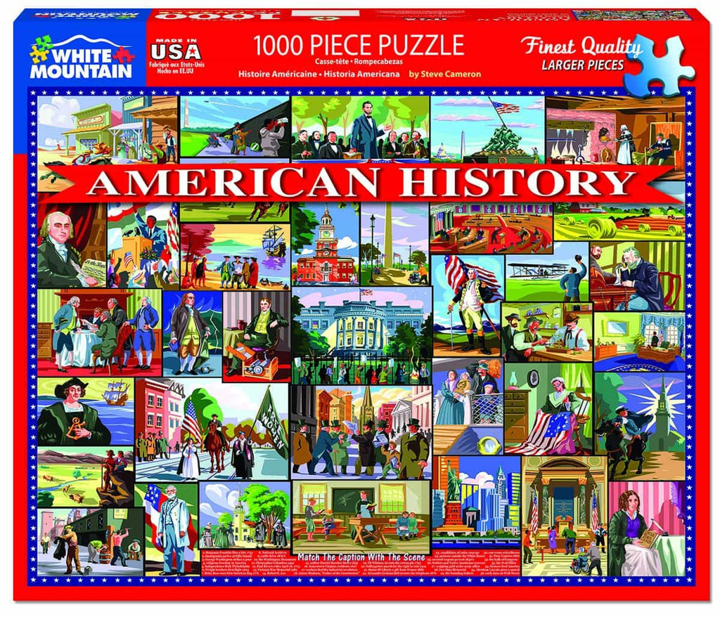 American History (1472pz) - 1000 Piece Jigsaw Puzzle