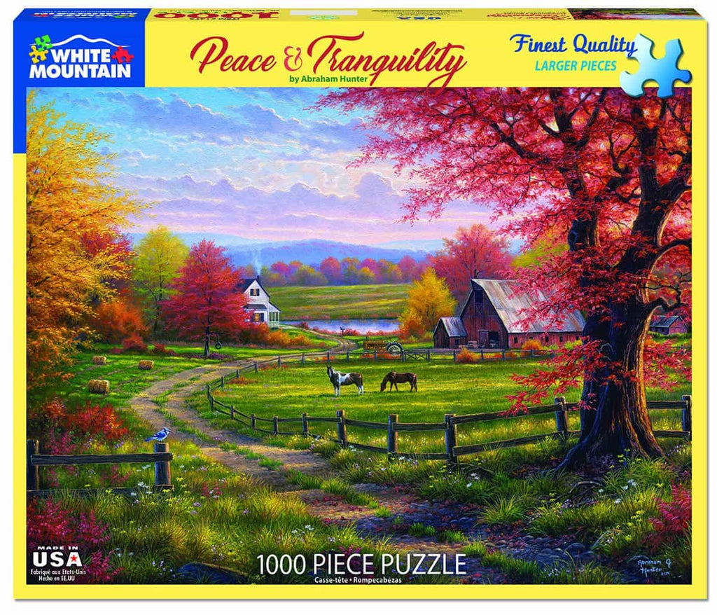 Peace & Tranquility (1473pz) - 1000 Piece Jigsaw Puzzle