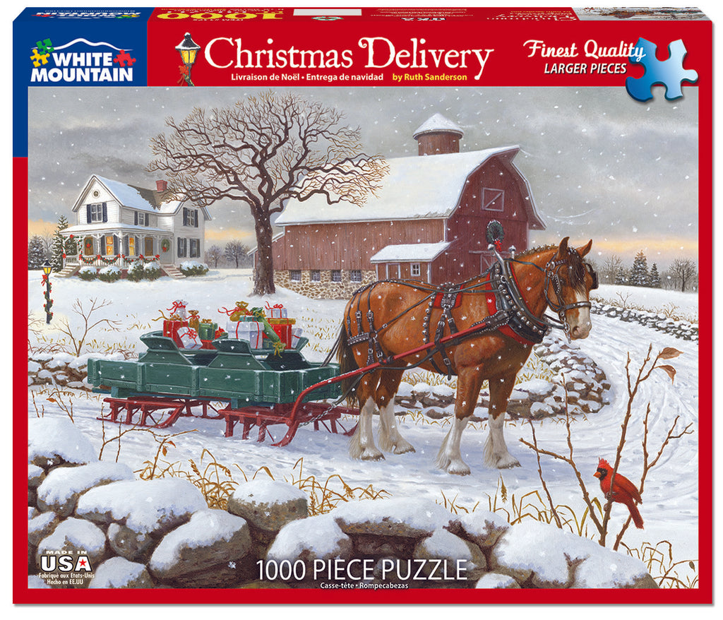 Christmas Delivery (1475pz) - 1000 Piece Jigsaw Puzzle