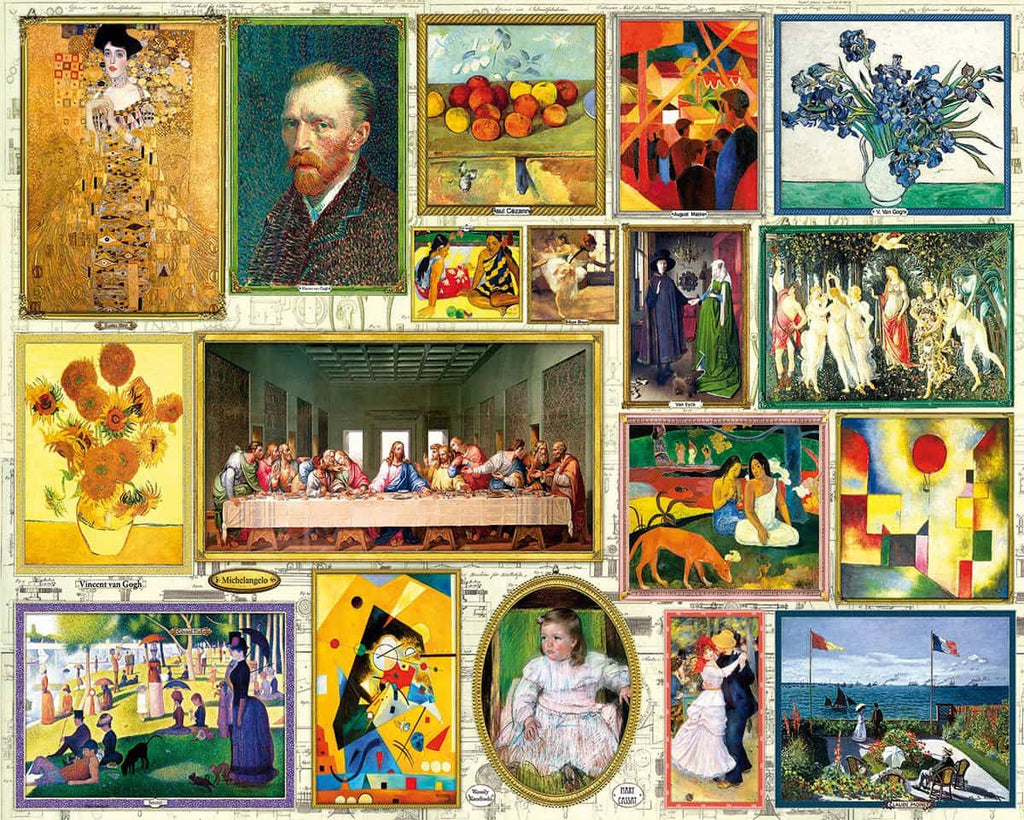Great Art (1480pz) - 1000 Piece Jigsaw Puzzle