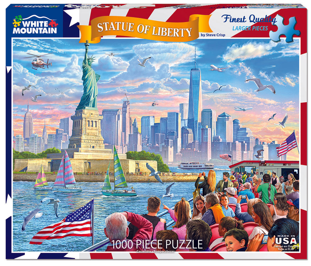 NEW Puzzles – White Mountain Puzzles