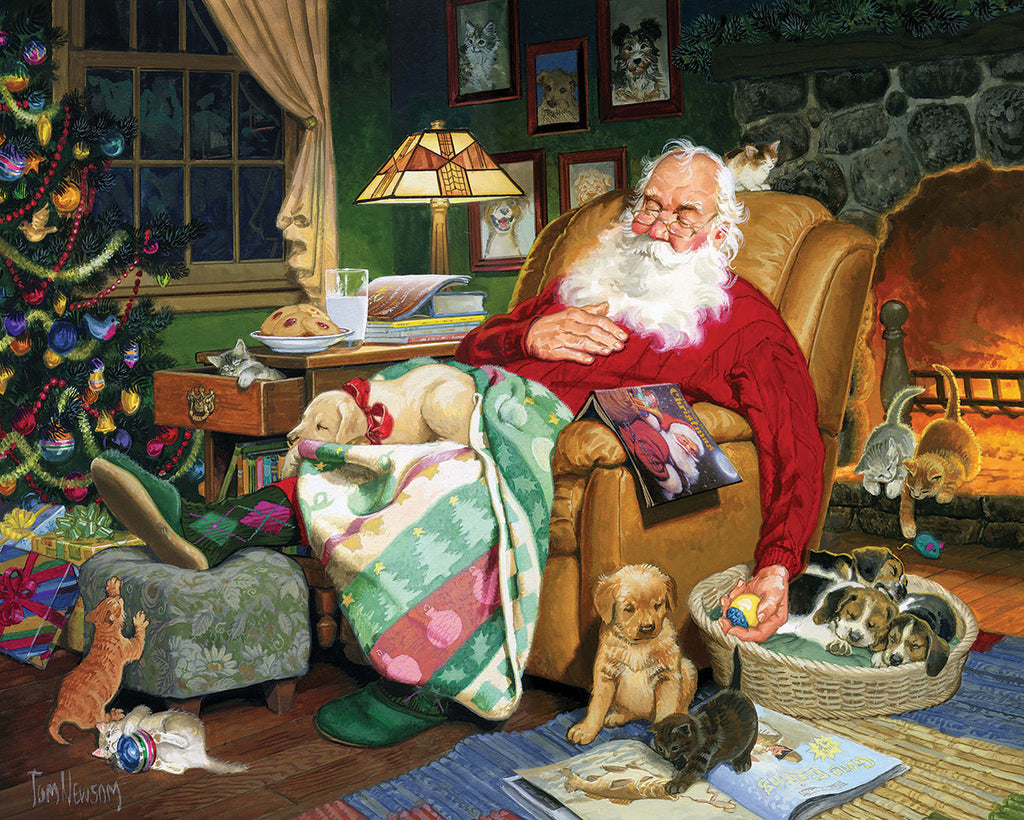 Santa's Naptime - 1000 Pieces