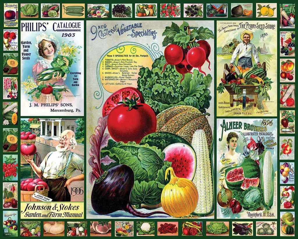 Everything for the Garden (1491pz) - 1000 Piece Jigsaw Puzzle