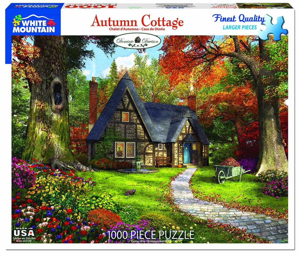 Autumn Cottage (1492pz) - 1000 Piece Jigsaw Puzzle