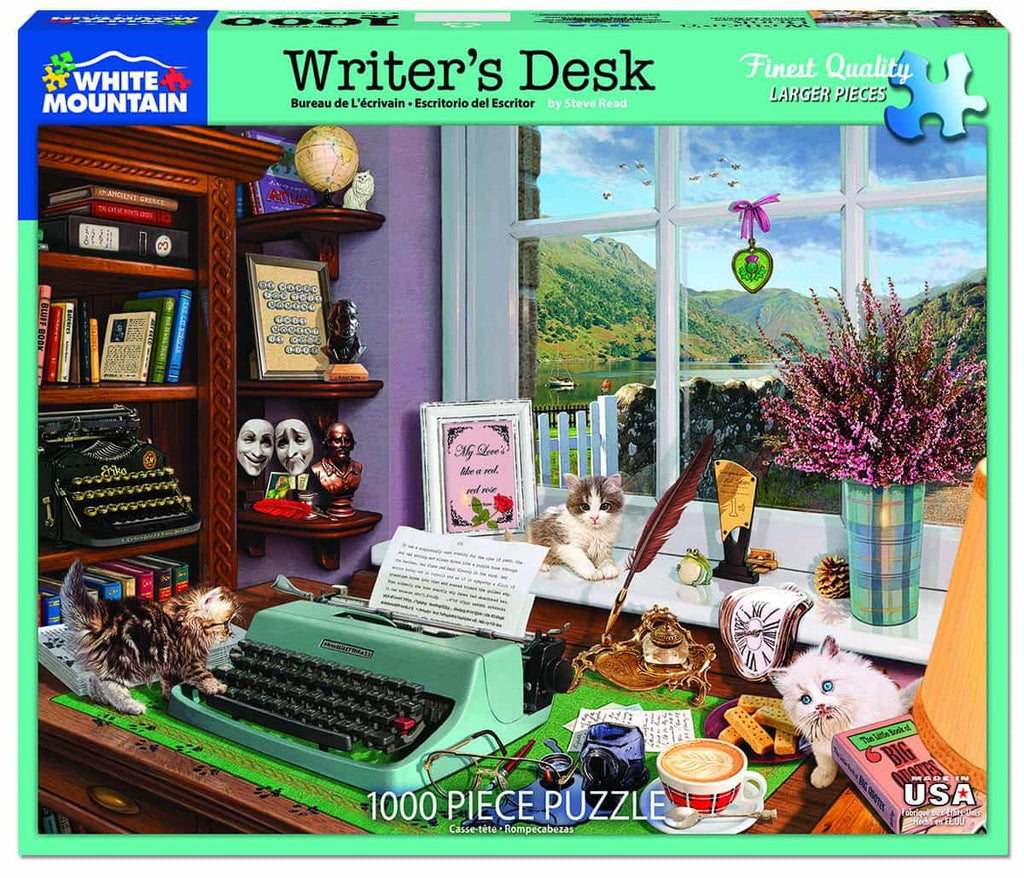 Writer's Desk - 1000 Piece Puzzle