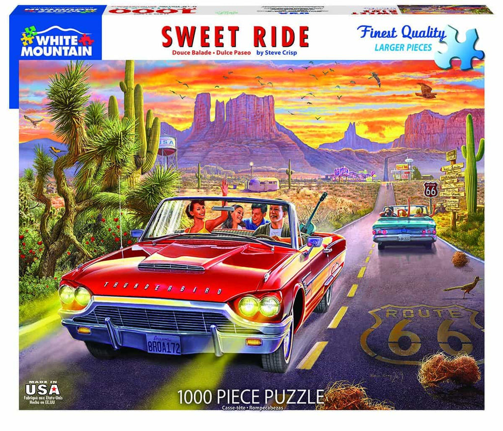 Sweet Ride (1494pz) - 1000 Piece Jigsaw Puzzle