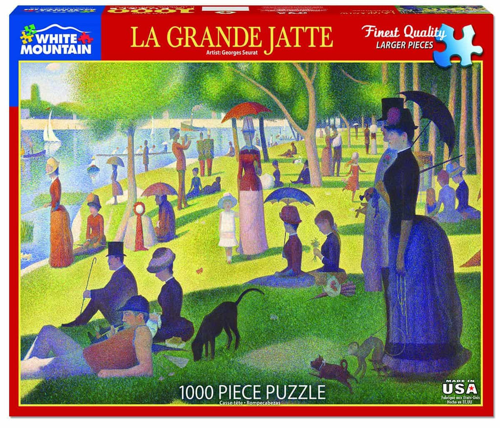 La Grande Jatte - 1000 Pieces