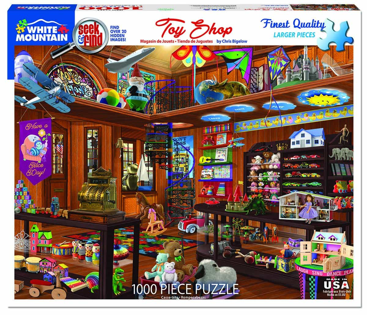 White Mountain Puzzles Craft Room 1000 Piece Jigsaw Puzzle 1372