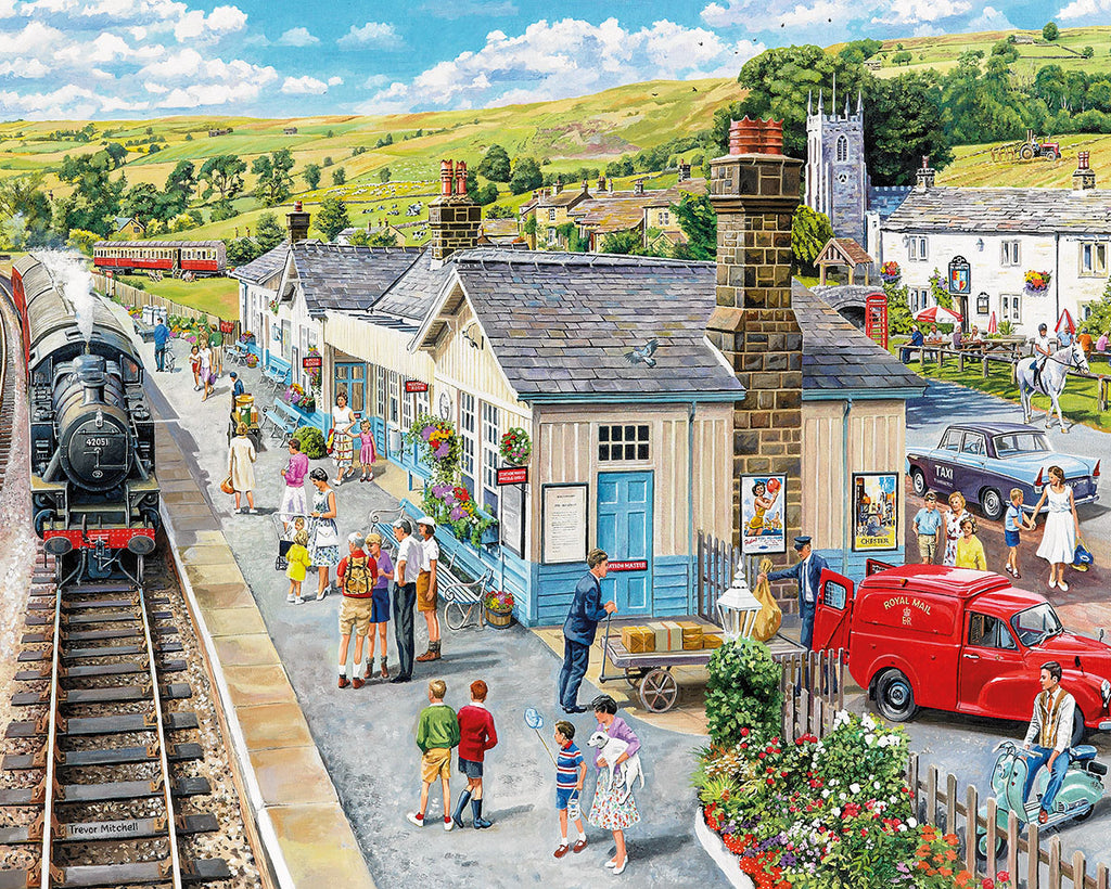 Village Station  (1502PZ) - 1000 Piece Jigsaw Puzzle