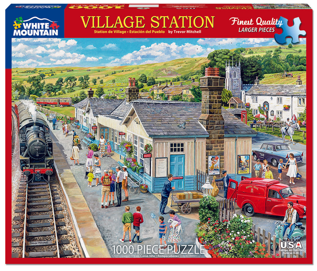 Village Station  (1502PZ) - 1000 Pieces