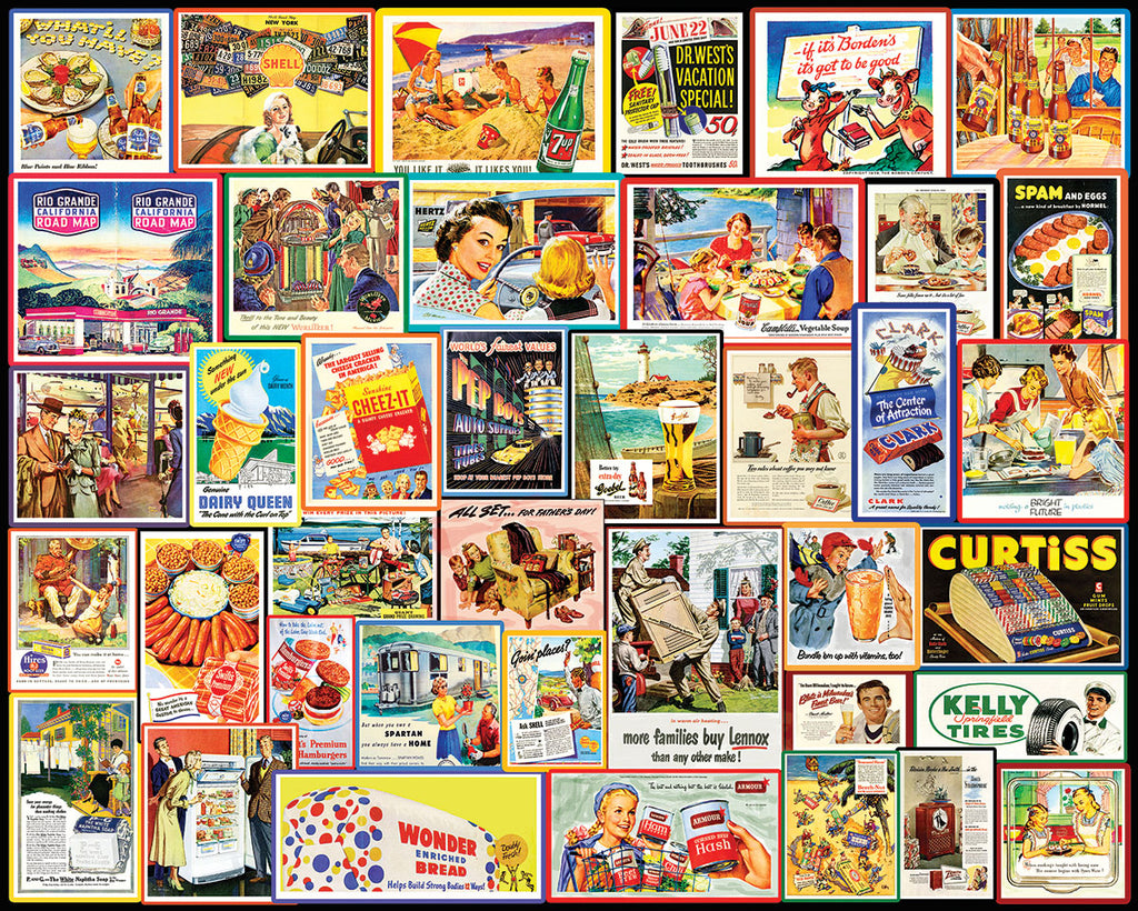 Great Old Ads - 1000 Pieces (1505PZ)