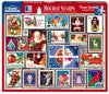 Holiday Stamps (1509pz) - 1000 Piece Jigsaw Puzzle
