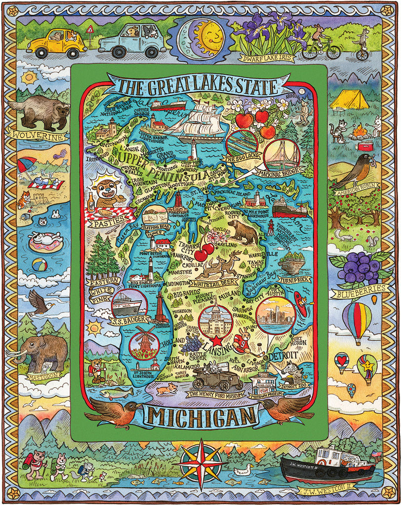 Michigan (1511pz) - 1000 Pieces