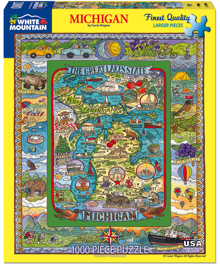 Michigan (1511pz) - 1000 Piece Jigsaw Puzzle