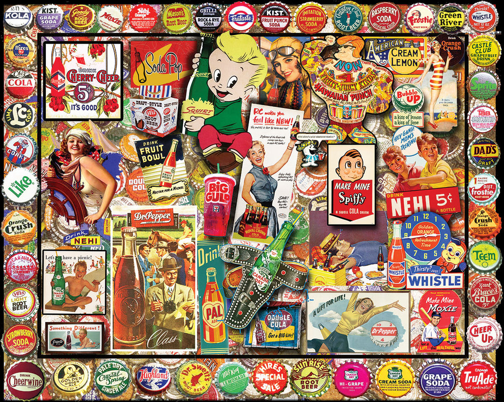 Soda Pop (1519pz) - 1000 Piece Jigsaw Puzzle