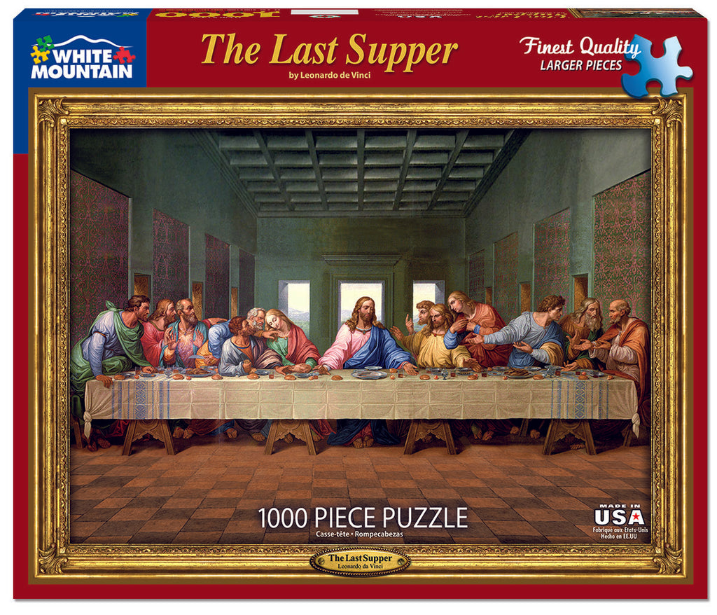 Last Supper (1524PZ) - 1000 Piece Jigsaw Puzzle