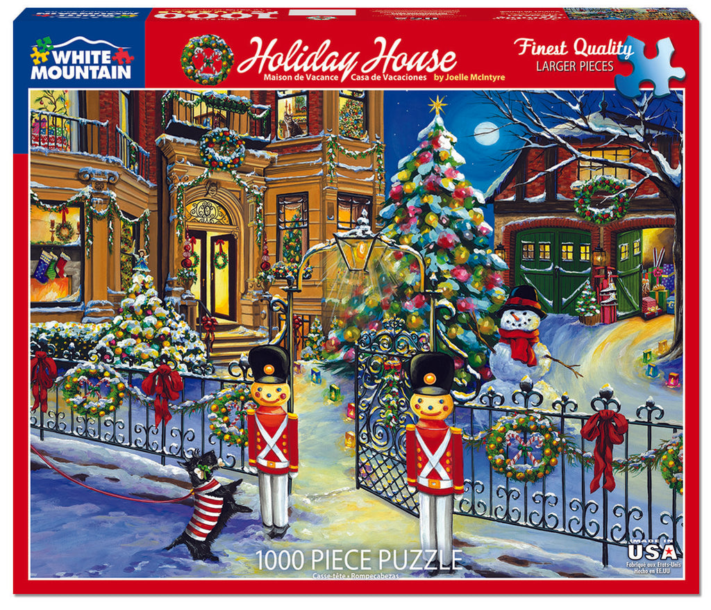 Holiday House (1541pz) - 1000 Piece Jigsaw Puzzle