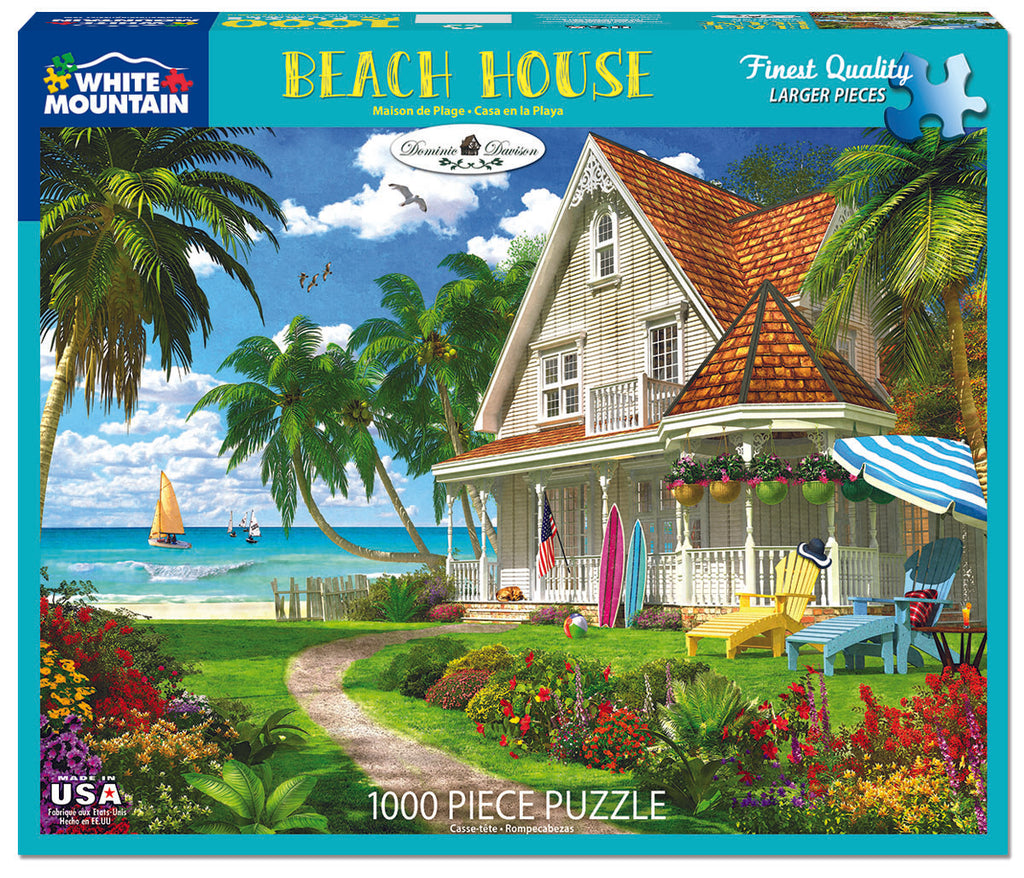 Beach House (1543pz) - 1000 Piece Jigsaw Puzzle