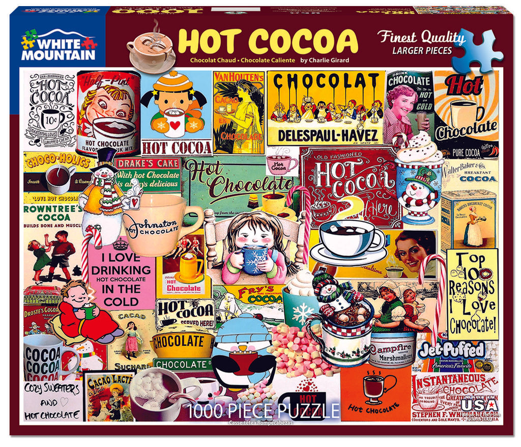 Hot Cocoa (1550pz) - 1000 Pieces