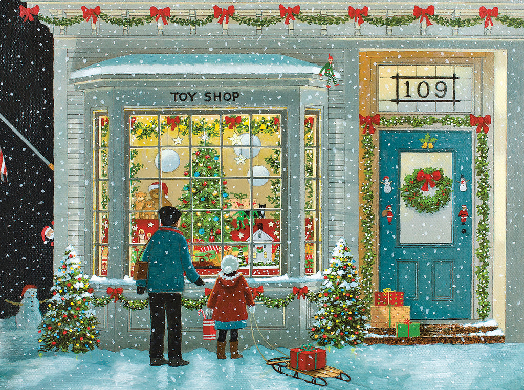 Tis The Season (1579pz) - 550 Piece Jigsaw Puzzle