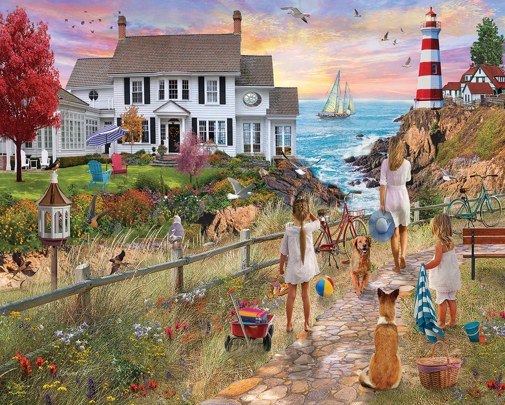 Beach Path (1580pz) - 1000 Piece Jigsaw Puzzle