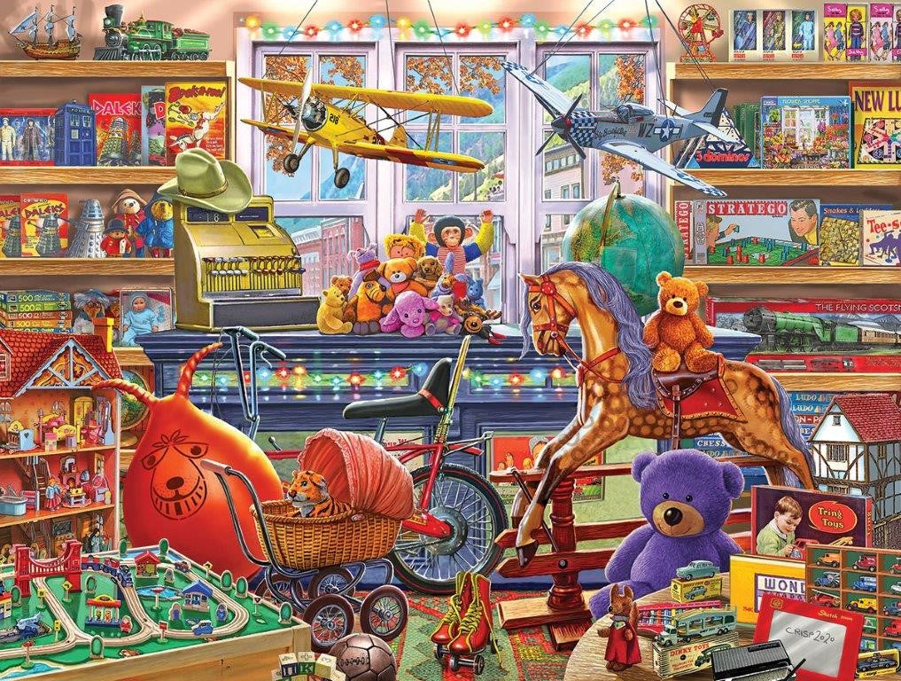 Toy Shoppe (1584PZ)- 550 Piece Jigsaw Puzzle