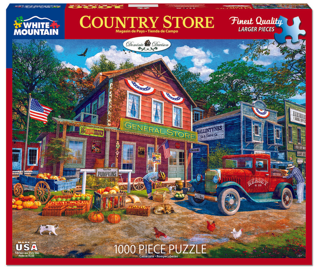 Country Store (1595pz) - 1000 Piece Jigsaw Puzzle