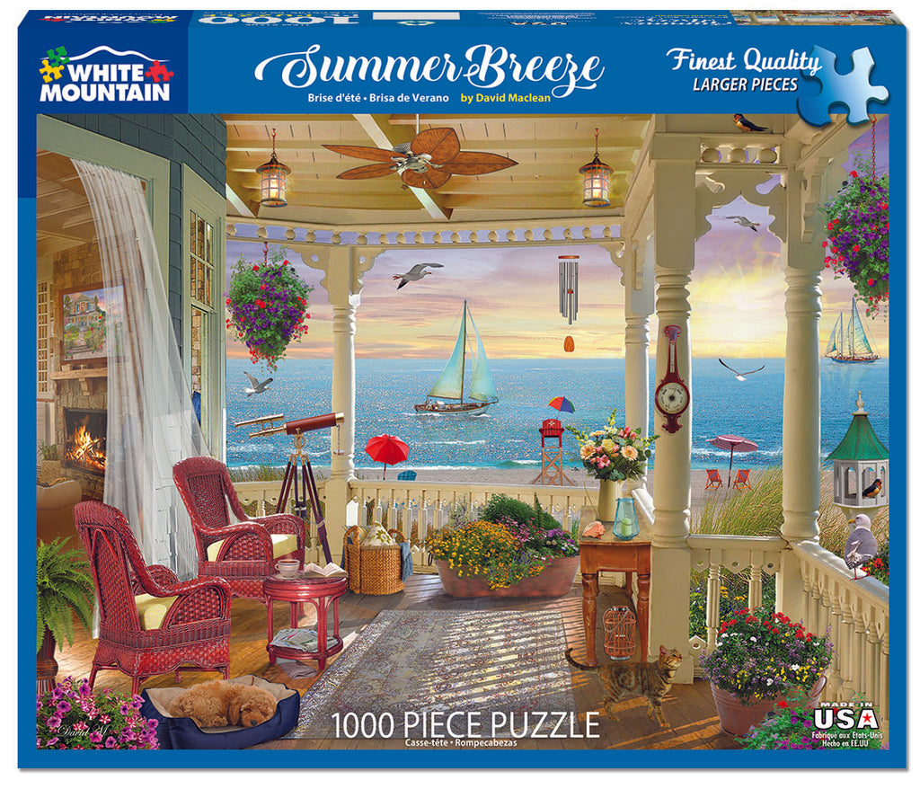 Summer Breeze (1596pz) - 1000 Piece Jigsaw Puzzle