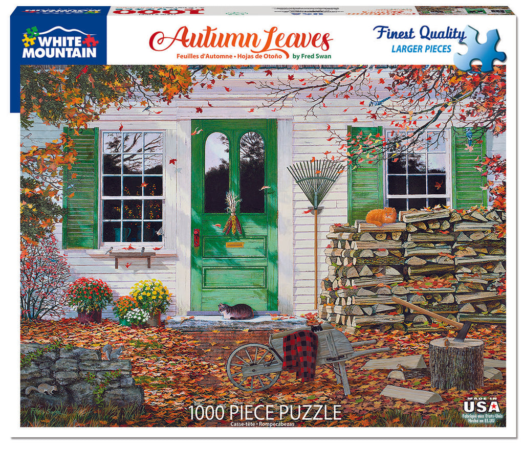 Autumn Leaves (1600pz) - 1000 Piece Jigsaw Puzzle