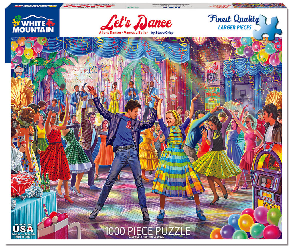 Let's Dance (1603pz) - 1000 Piece Jigsaw Puzzle