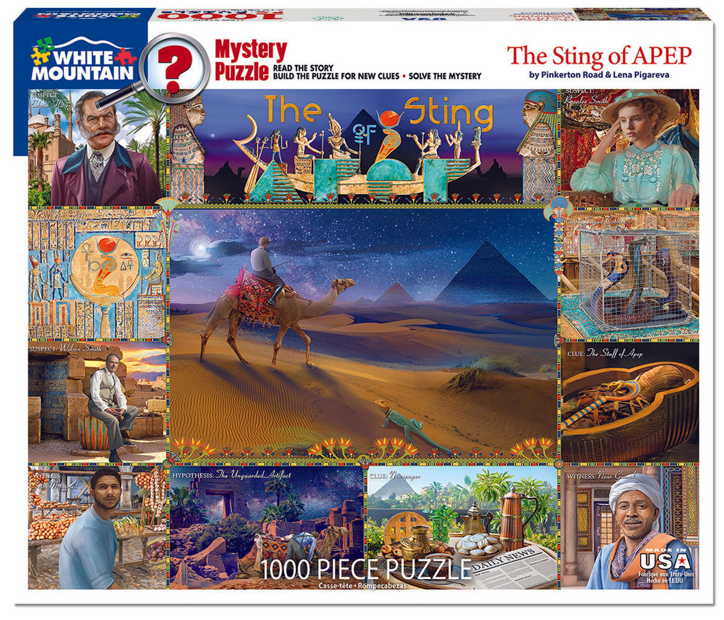 The Sting of APEP (1604pz) - 1000 Piece Jigsaw Puzzle
