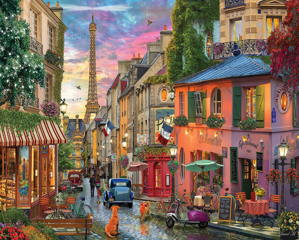 Paris Sunset (1624pz) - 1000 Piece Jigsaw Puzzle