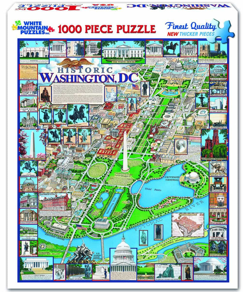 Washington, DC (220PZ) - 1000 Piece Jigsaw Puzzle