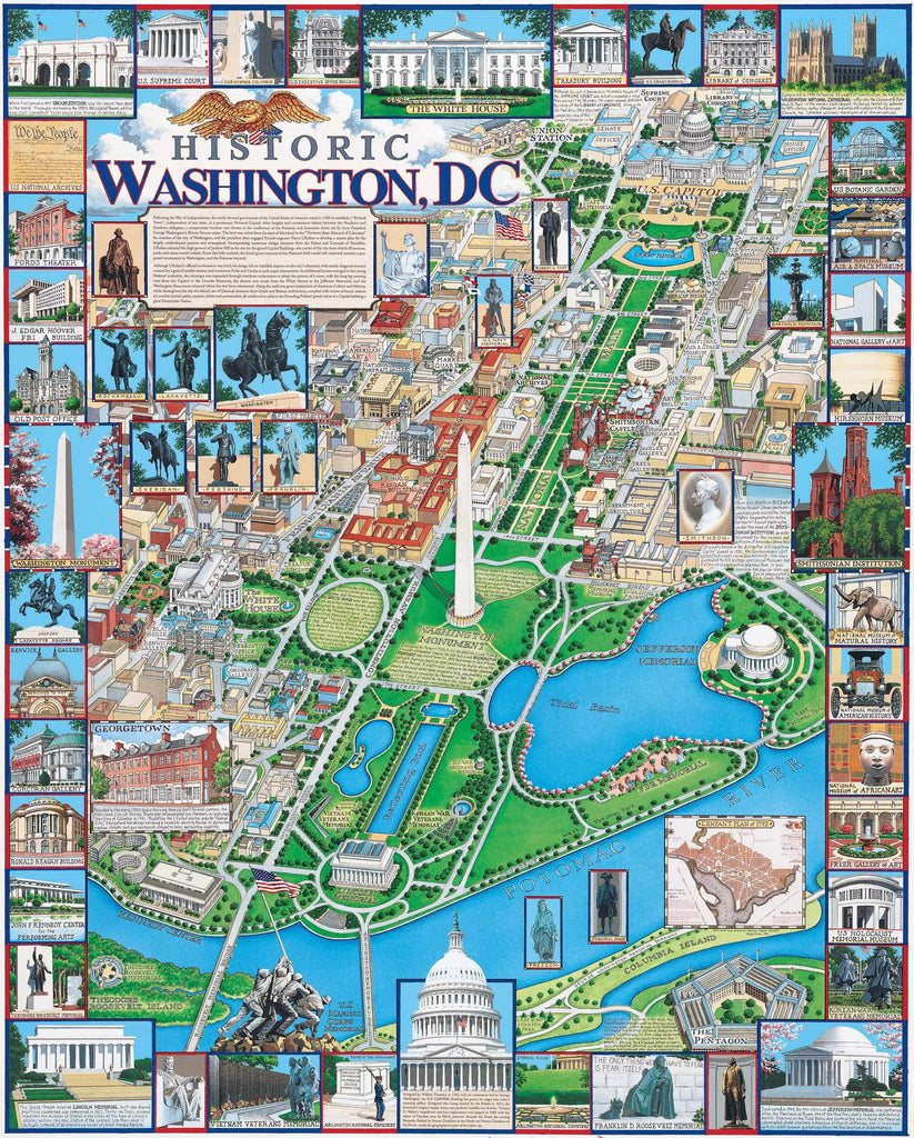 Washington, DC (220PZ) - 1000 Pieces