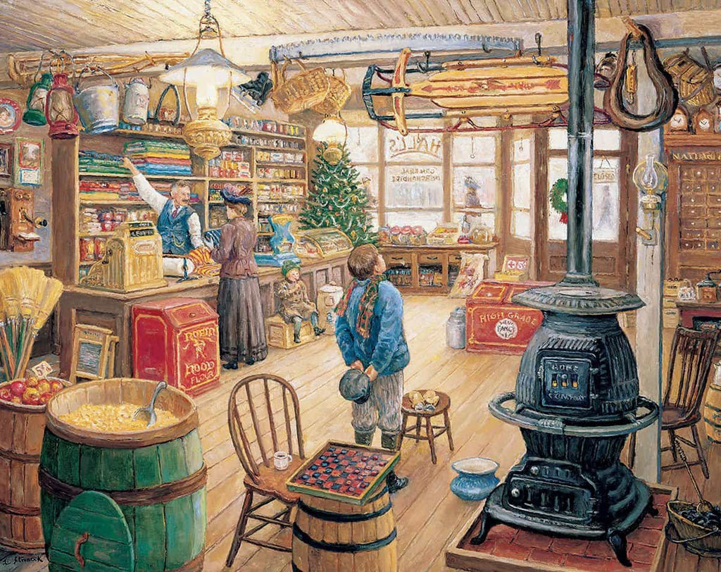 The Olde General Store (229PZ) - 1000 Piece Jigsaw Puzzle