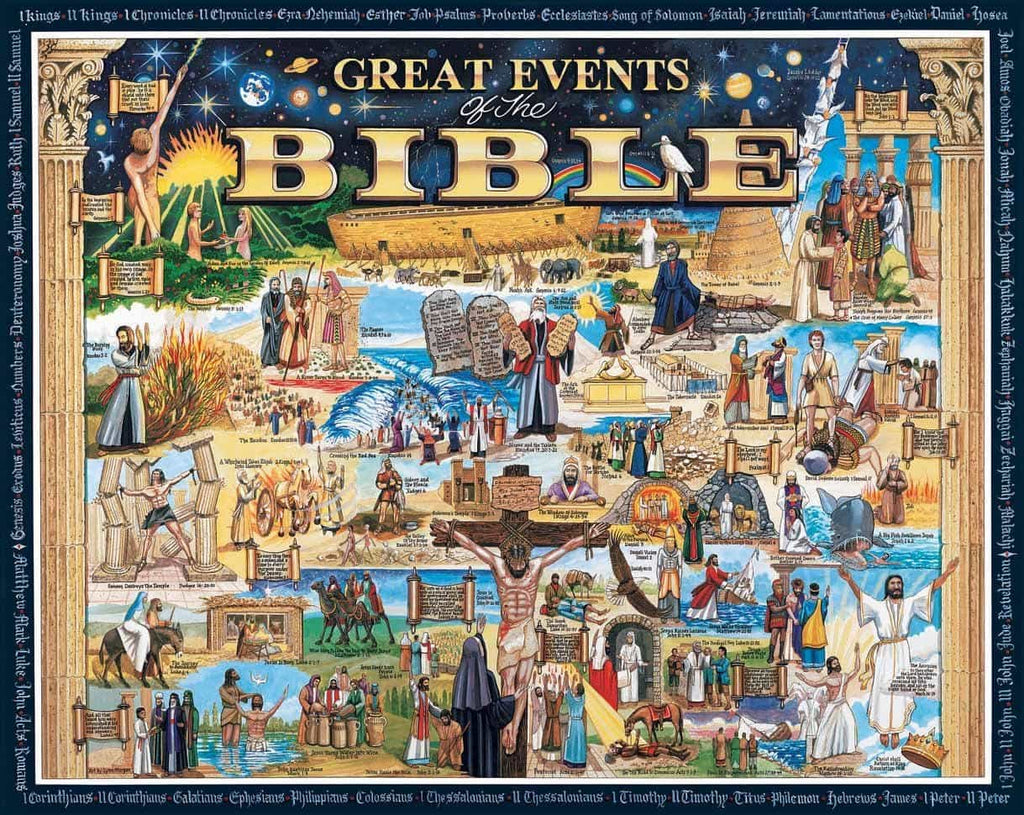 Great Events of the Bible Poster