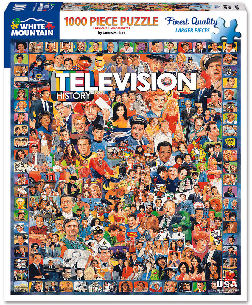 Television History (270PZ) - 1000 Piece Jigsaw Puzzle
