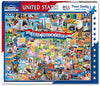 United States of America (290PZ) - 1000 Piece Jigsaw Puzzle