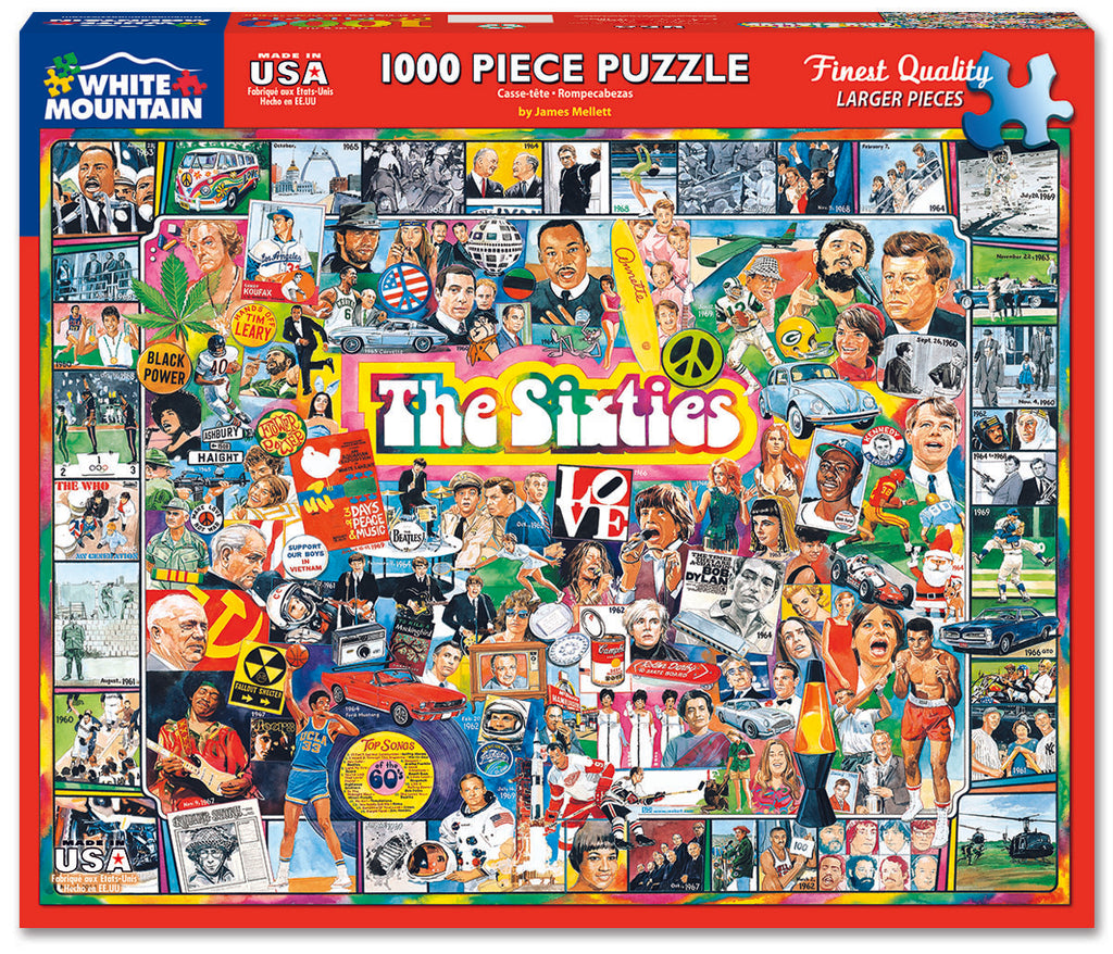 The Sixties (305PZ) - 1000 Piece Jigsaw Puzzle