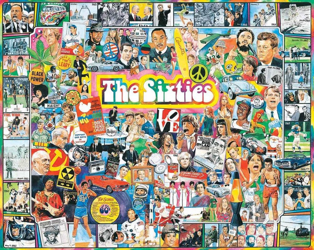 The Sixties - 1000 Pieces