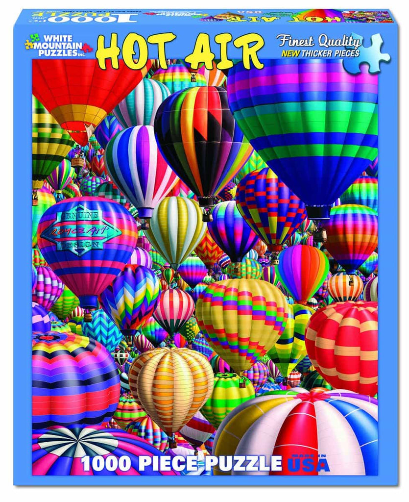 Hot Air Balloons - 1000 Pieces