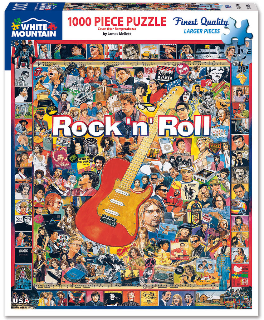 Rock 'n' Roll (409PZ) - 1000 Piece Jigsaw Puzzle