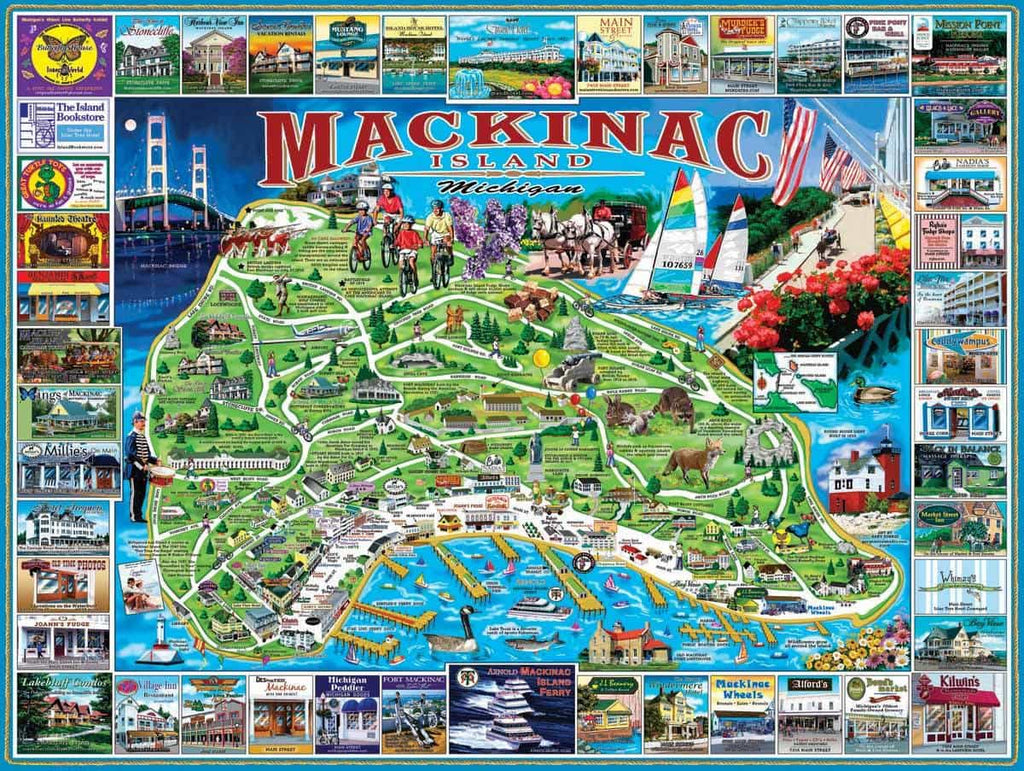 Mackinac Island (468PZ) - 1000 Pieces