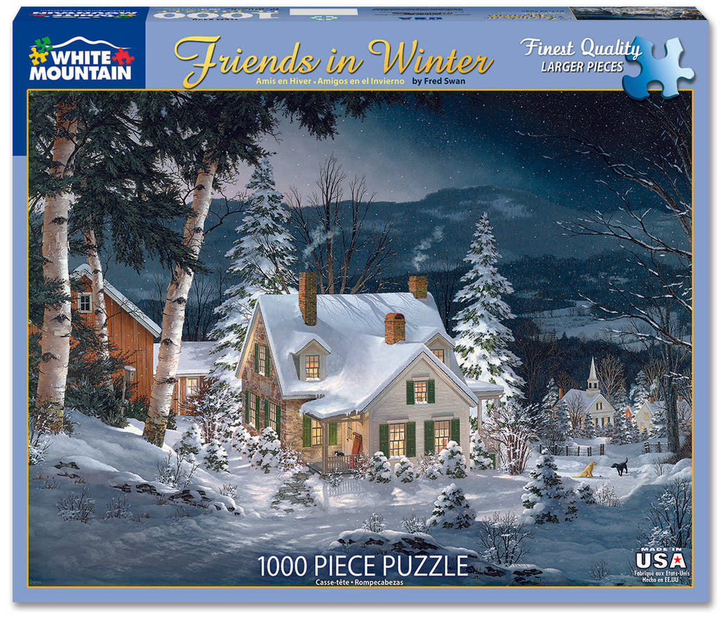 Friends in Winter (470PZ) - 1000 Piece Jigsaw Puzzle
