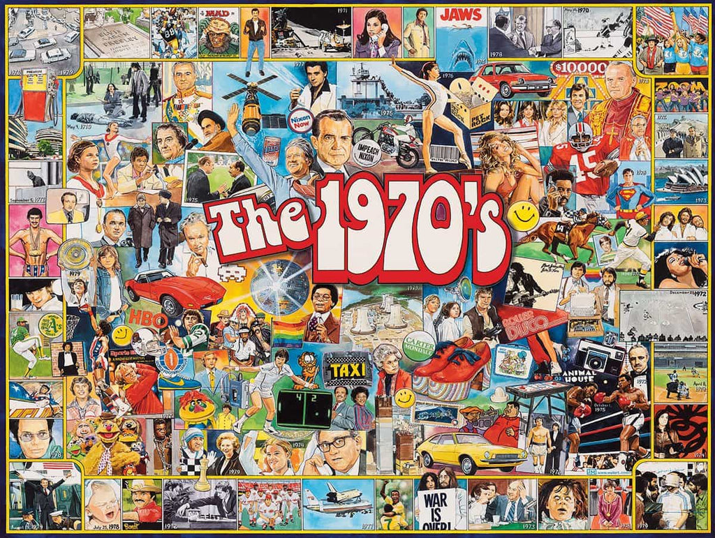 The 1970's (478PZ) - 1000 Piece Jigsaw Puzzle