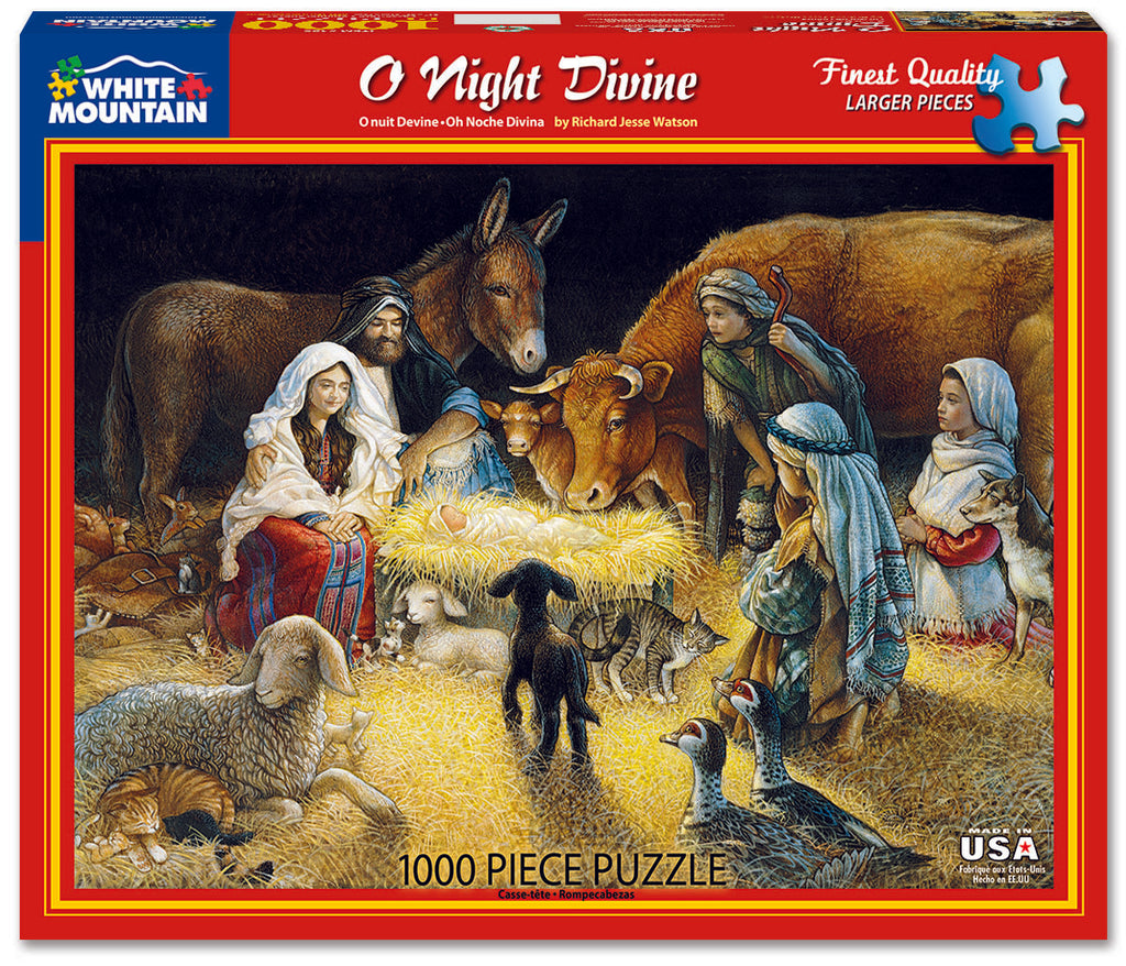 O Night Divine (485PZ) - 1000 Piece Jigsaw Puzzle