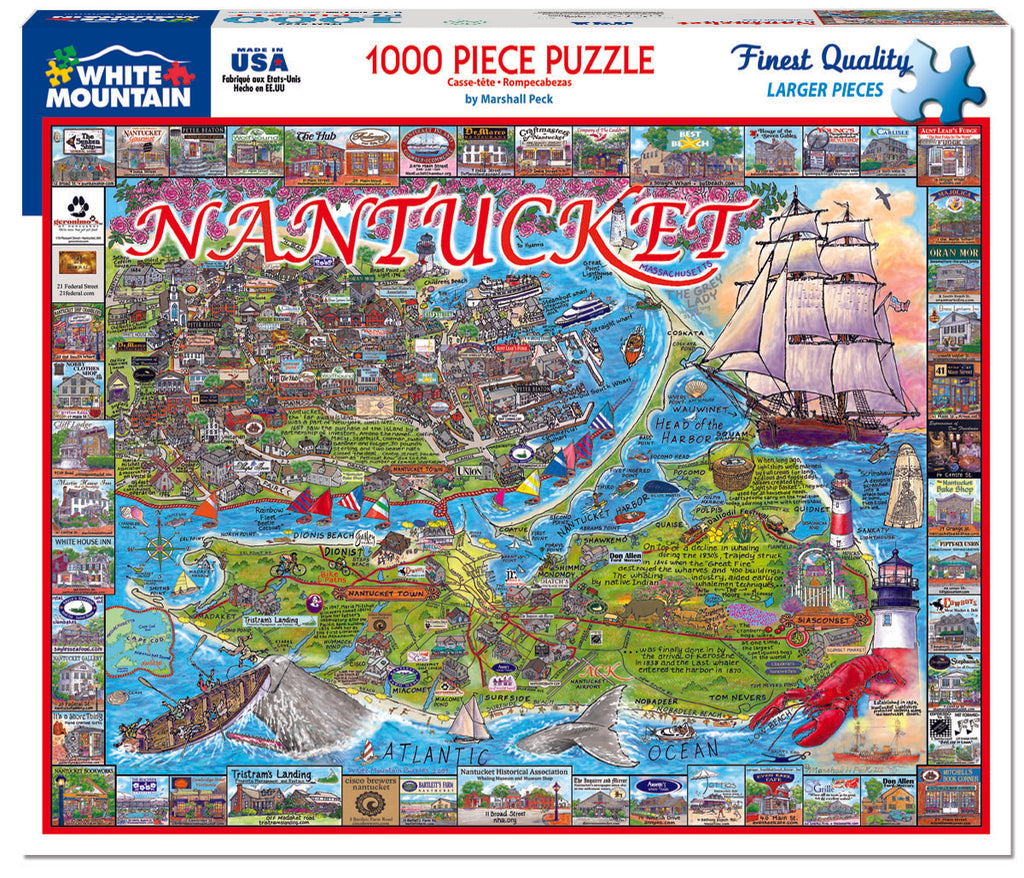 Nantucket, MA (533PZ)- 1000 Piece Jigsaw Puzzle